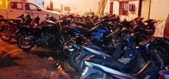 27 motos secuestradas en fin de semana y 125 actas confeccionadas