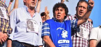 Yasky y Micheli cargaron contra la CGT y el gobierno: «El paro está vivo»