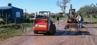 Continúan los trabajos de recupero de transitabilidad en las calles