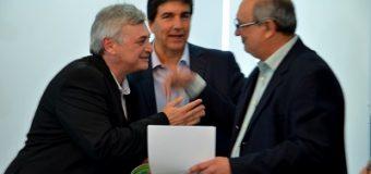 Corradi participó de la inauguración de las aulas laboratorio en la UNCAus