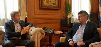 Peppo pidió a Frigerio la reanudación de las viviendas paradas