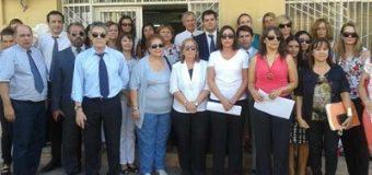 Funcionarios judiciales sumaron su apoyo a Marta Alonso