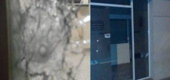 Mensaje mafioso: otra vez rompen la puerta de la Secretaría de Economía de la Municipalidad