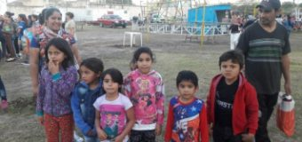 Actividades recreativas para niños de comedores comunitarios
