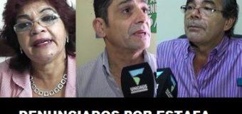Familias damnificadas  con terrenos denunciaron ante la fiscal Lupi a Aranda, Ramos y Vargas