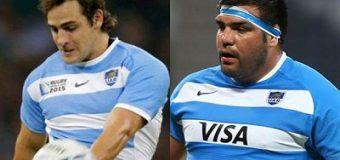 Dos Pumas entre la Selección y Europa