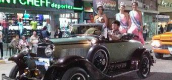 #Aniversario106: todo listo para el desfile de carrozas y autos antiguos