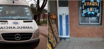"""#RUSIA2018: El Servicio 107 del """"4 de Junio"""" ya alienta a la selección argentina"""