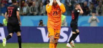 Mundial Rusia 2018 Papelón mundial: Argentina cayó goleada 3-0 ante Croacia y quedo casi eliminada