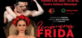 Maximiliano Guerra, no de los mejores bailarines del mundo llega a Sáenz Peña