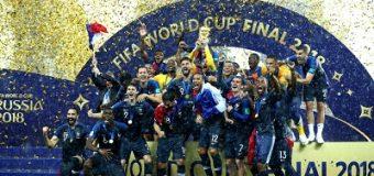 Francia conquistó el bicampeonato mundial de fútbol tras derrotar 4-2 a Croacia