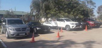 Vehículos de alta gama y 3 millones, entre Pesos, Guaraníes y Dólares, fueron secuestrados en poder de Heffner
