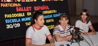 La Escuela Municipal de Danzas Españolas realizará un almuerzo español