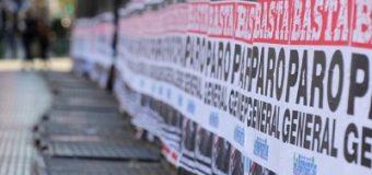 #25S contra Macri: La CGT comenzó el cuarto paro general en el Gobierno de Macri