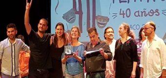 """Premiaron """"Experimento Puente"""", dirigida por Ulises Camargo y actuación de Elcida Villagra, Carlos Canto y Beatriz Cyzruk"""
