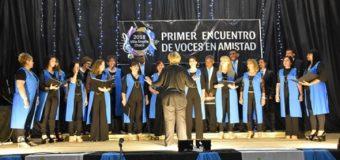 Se realizó en el primer Encuentro Regional de Coros