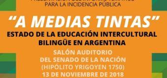 Endepa presentará su informe sobre el estado de la Educación Intercultural Bilingüe en Argentina