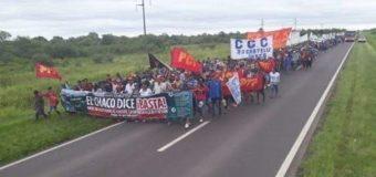 La capital chaqueña una de las sedes de la protesta contra Macri y el G2