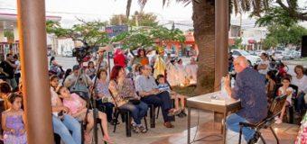 Con relatos, lecturas y cuentos, Sáenz Peña comenzó a vivir el espíritu navideño