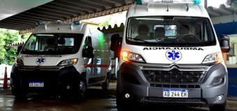 Nuevas ambulancias se incorporan al sistema sanitario provincial