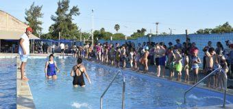 Primera Exhibición 2019 en la Escuela de Natación del Polideportivo Municipal