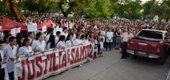 Familiares, amigos y vecinos de Samuel Flores pidieron justicia