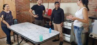 UNCAus colaboró con un merendero y acercó donaciones