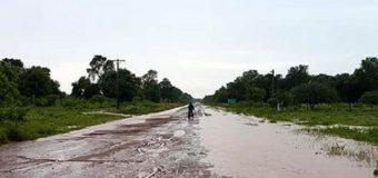 Garcitas fue la localidad donde más llovió en Chaco