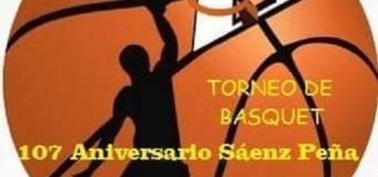 Básquet: Este viernes a las 20 comienza el torneo 107° de Sáenz Peña