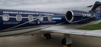 Subastarán dos aviones de Lázaro Báez