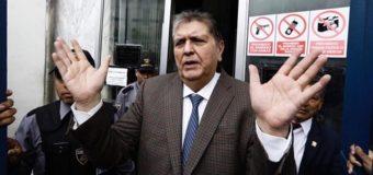 Murió el expresidente de Perú tras dispararse para evitar detención
