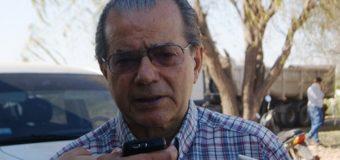 """Cipolini denunció que """"alguien"""" se está robando iluminaria led de las calles"""