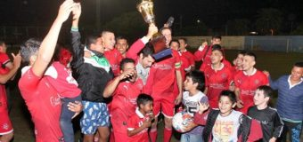 El Club Deportivo Unión se consagró campeón de la Copa 107º  Aniversario