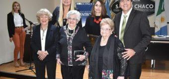 icardo Sánchez y Liliana Spoljaric homenajearon a docentes saenzpeñenses