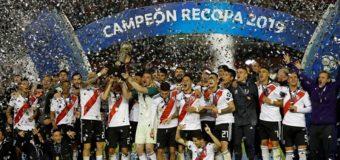 River goleó a Paranaense y es el campeón de la Recopa de América