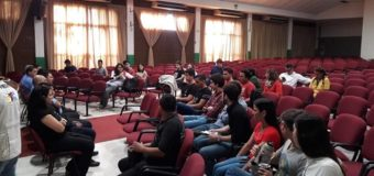 Seguridad: Reunión de autoridades municipales y estudiantes universitarios