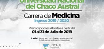 UNCAus abre en julio las inscripciones para los Cursillos de Medicina