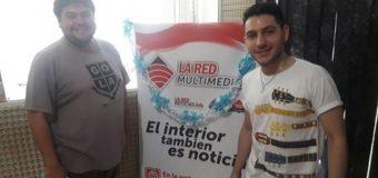 Pedro, de La Voz Argentina, se presenta en Sáenz Peña