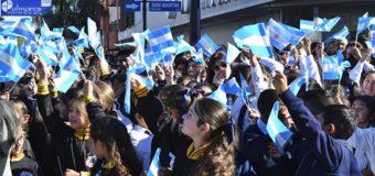 1.760  saenzpeñenses prometieron lealtad a la Bandera