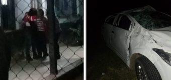 Familiares de la niña fallecida esquivaron un perro y volcaron en la ruta cuando viajaban a Sáenz Peña