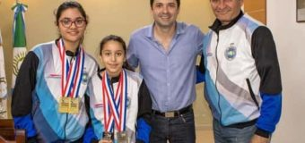 El Secretario de Gobierno recibió a los sáenzpeñenses que participaron del XIV Juegos Panamericanos de Taekwondo en Estados Unidos