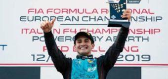 «Vamos todavía, ganamos!», la expresión de Giorgio al lograr el podio en Fórmula 4 Italiana