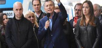 Macri inaugura obras y critica crudamente al kirchnerismo