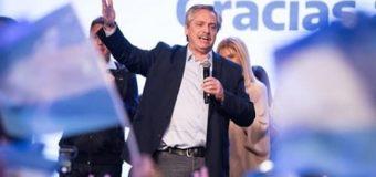 Alberto Fernández ganó en primera vuelta y es el Presidente electo