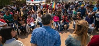 Capitanich prometió que hará cumplir la Ley y Colonia Aborigen será Municipio
