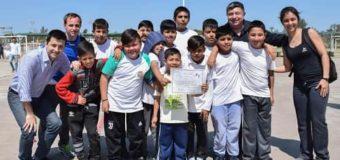 VII Encuentro Escolar de Handball en el Polideportivo Municipal