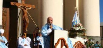 """Monseñor Conejero en la 40º peregrinación de jóvenes a Itatí: """"Vale la pena entregar la vida por los más pobres y sufrientes"""""""