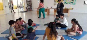 Jornada de lectura y juegos recreativos  en el NIDO del barrio Milenium