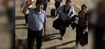 Evo Morales viajó hacia México, que le ofreció asilo y refugio