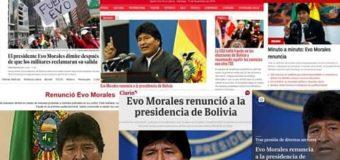 Preocupante situación en la Región: Bolivia, sin gobierno